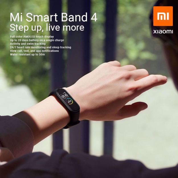 Picture of Xiaomi Mi Smart Band 4 Original Malaysia