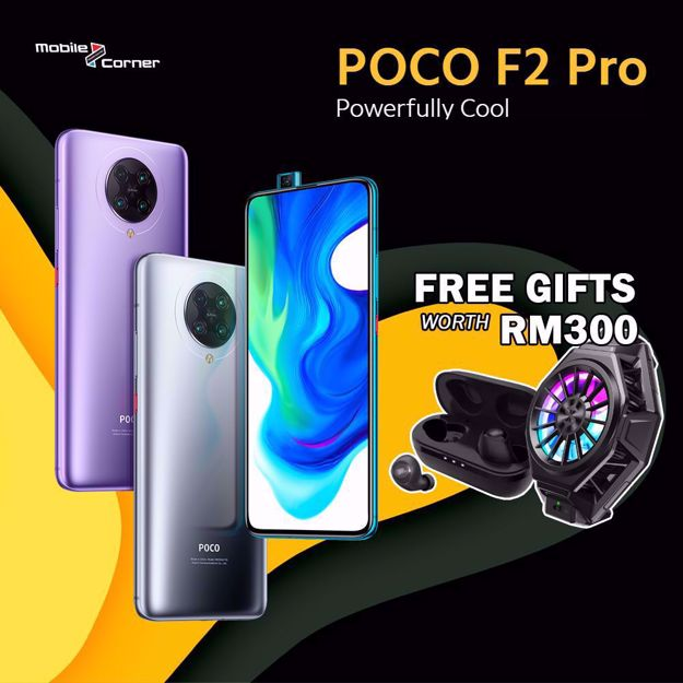 Mobile Cornermobile Corner Wholesales Sdn Bhd Offers All The Top Brands Of Smartphone Gadget Tablet Accessories With Best Good Price Online Shopping Is Now Made Easy Xiaomi Poco F2 Pro 256gb