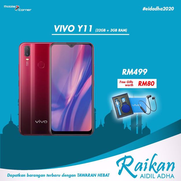 Picture of VIVO Y11 [32GB + 3GB RAM] ORIGINAL MALAYSIA