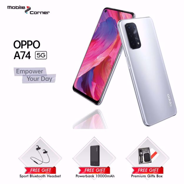 Picture of OPPO A74 5G[6GB+128GB ]MALAYSIA SET